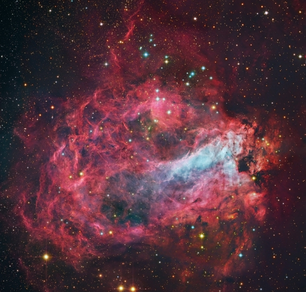 APOD: 2014 May 27 - Star Factory Messier 17